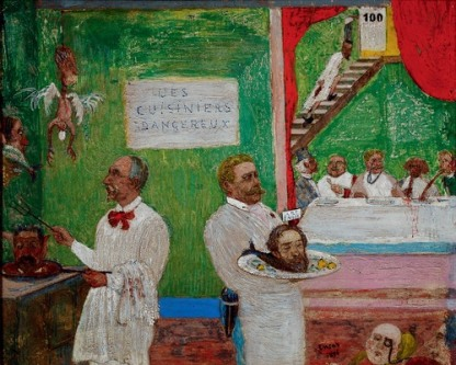 James Ensor, The Dangerous Cooks