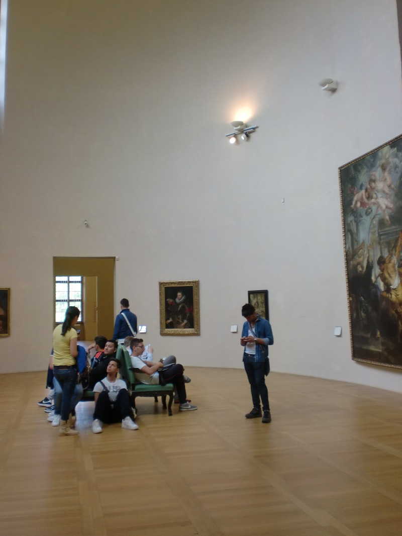 Boredom surrounded by Rubens