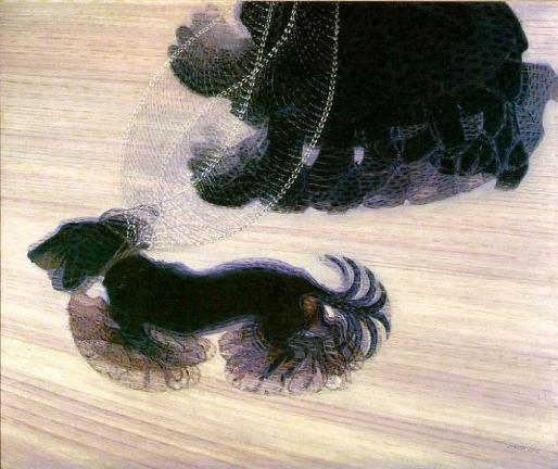 "Giacomo Balla, ""Dynamism of a Dog on a Leash,"" 1912"