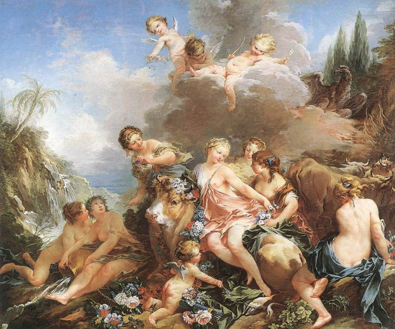 François Boucher The Rape of Europa