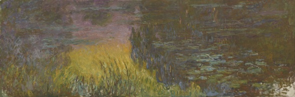 Monet, The Water Lilies - Setting Sun, 1914-1926
