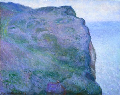 Monet, The Pointe du Petit Ailly in Gray Weather, 1897