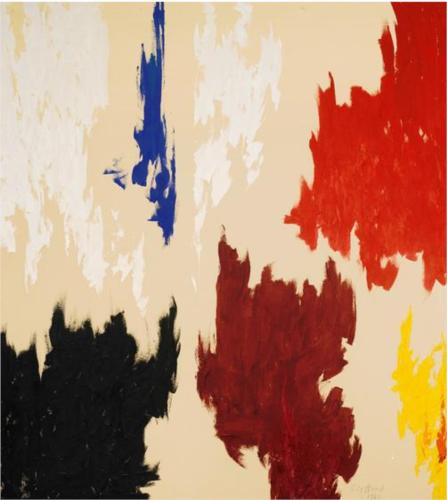 Clyfford Still, PH-21, 1962
