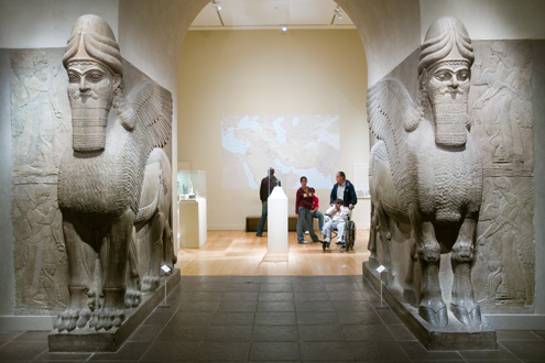 Assyrian Lamassu, ca. 883–859 B.C. The Metropolitan Museum of Art